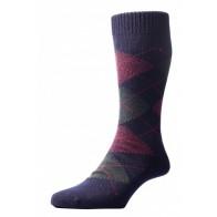 Pantherella Socks OTC - Argayle Navy