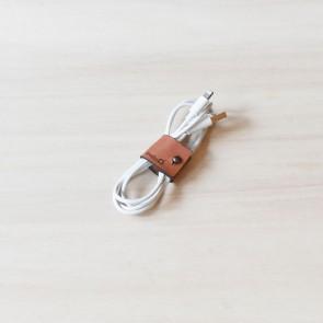 Studio D. Leather Cable Wrap