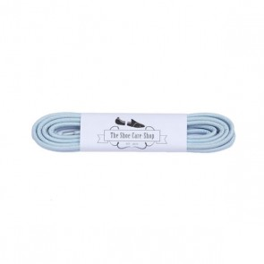 Waxed Shoe Laces - Light Blue
