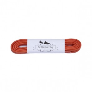 Waxed Shoe Laces - Orange