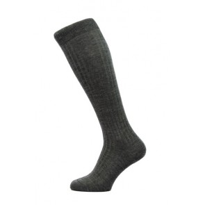 Pantherella Socks OTC - Rib Charcoal