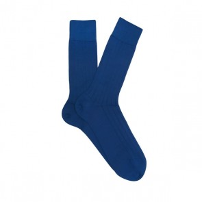 Profuomo Socks Rib - Royal