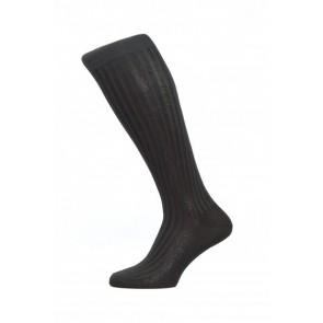 Pantherella Socks OTC - Rib Black